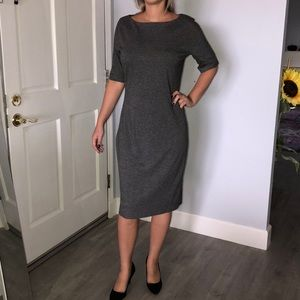 New MNG gorgeous below the knee pencil dress
